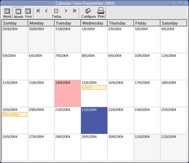 Calendar Organization Software : Best free organizer software or alternative to outlook